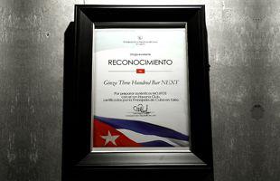 certificate of mojito