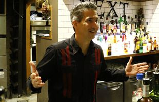 Mr.Fernandes whois president of Cuba Bartender Association