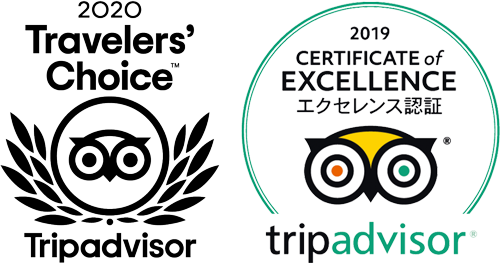 300BARは全店舗トリップアドバイザーエクセレンス認証2年連続受賞しました。